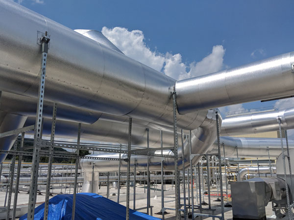 Stainless Steel, Tig Welded HVAC for Local Cheese Manufacturer