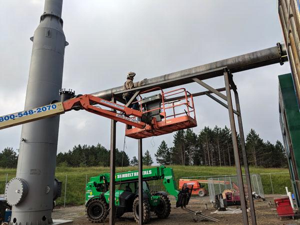 Natural Gas Compressor Station Project