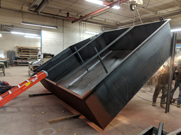 Oil Containment Vessel fabricated by AFT Mechanical